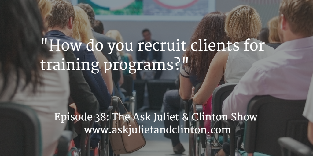 attract training clients