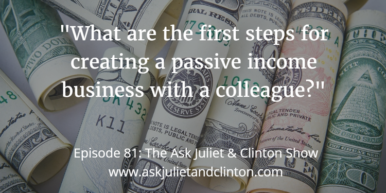 steps for creating a passive income business
