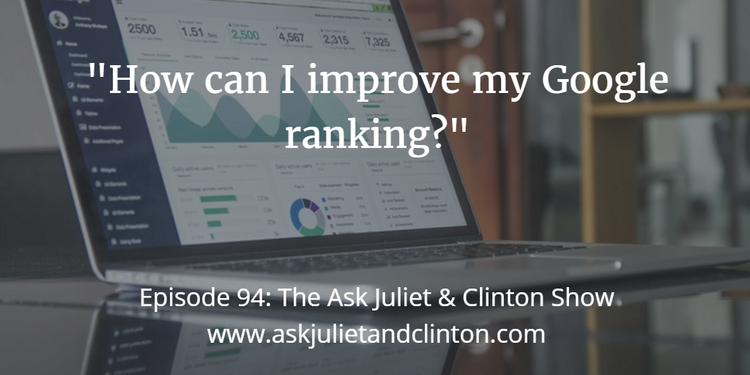 improving your google ranking