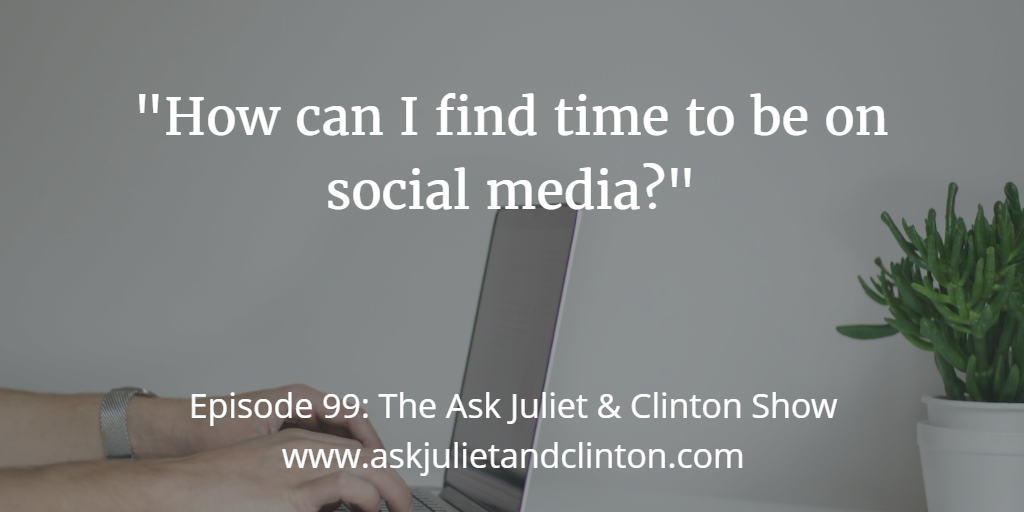 finding time on social media