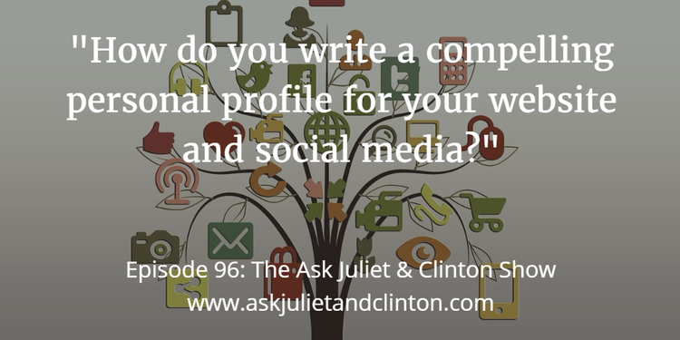 write a compelling personal profile