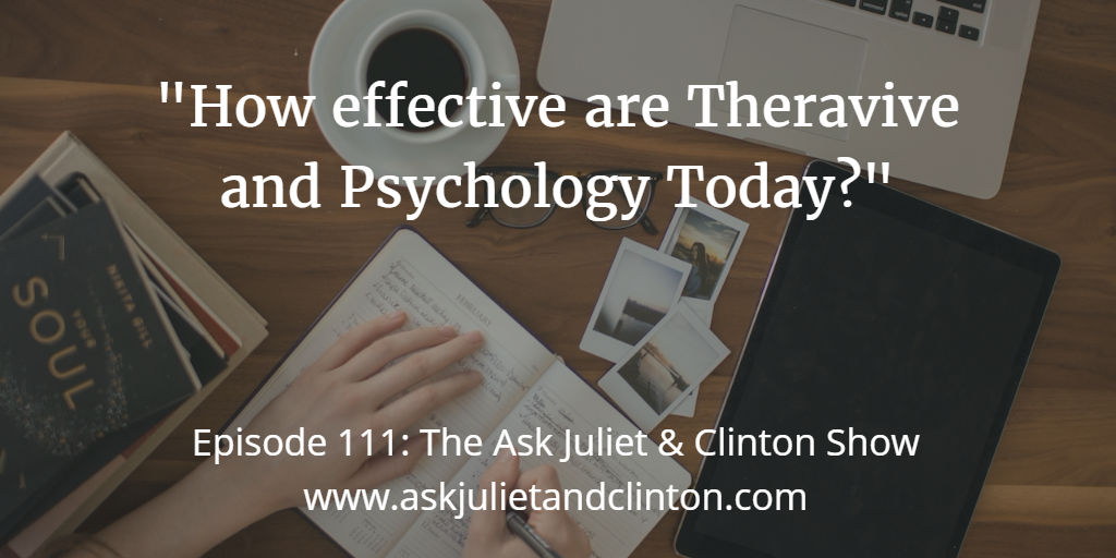 Psychology Today and Theravive