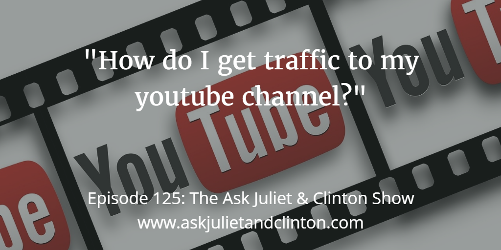 getting traffic in youtube channel