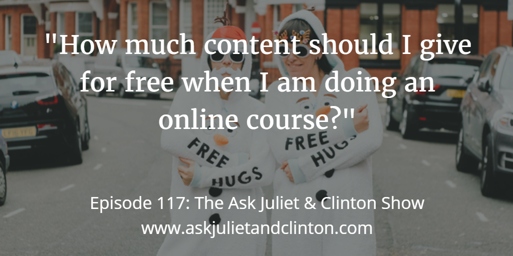 free content for online course