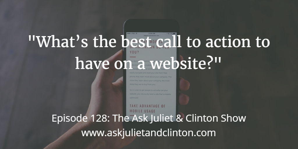 best call to action for your website