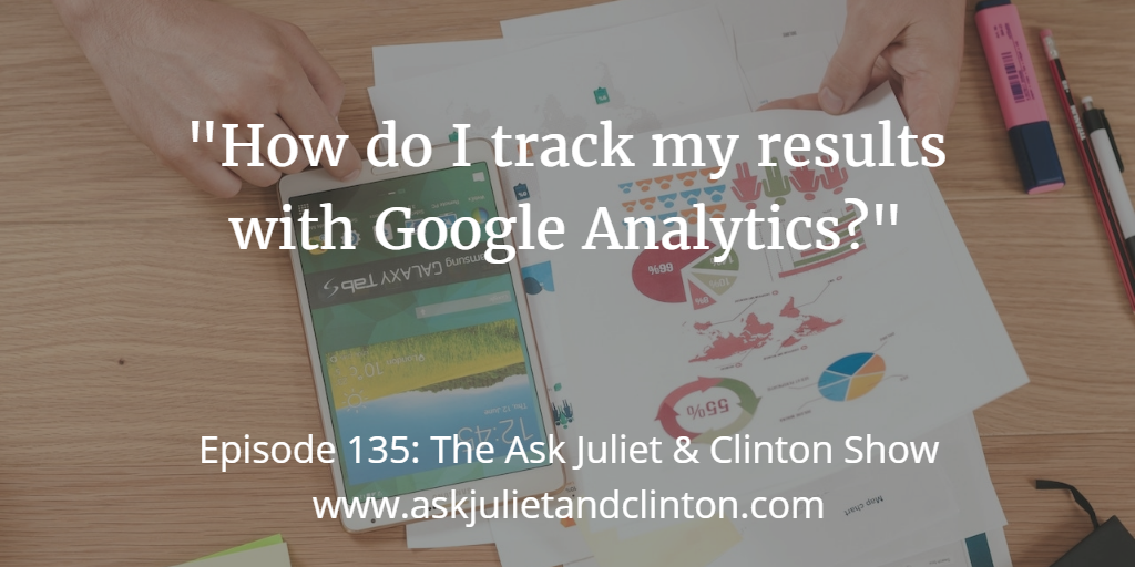 tracking results with google analytics