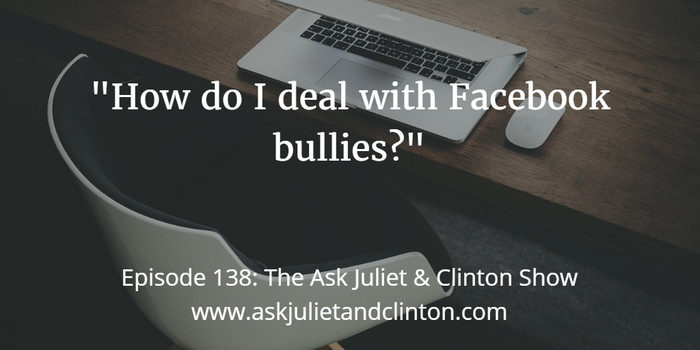 dealing with FB bullies