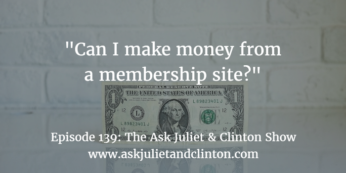 making money from membership site