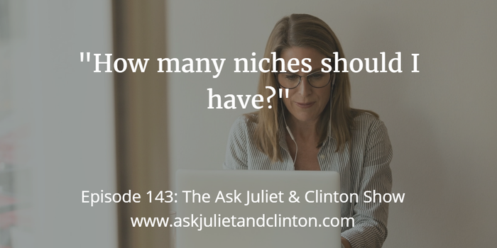 how many niches you should have