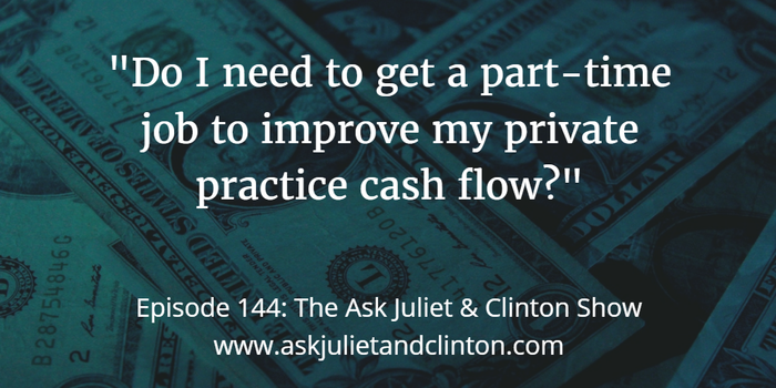 improving private practice cash flow