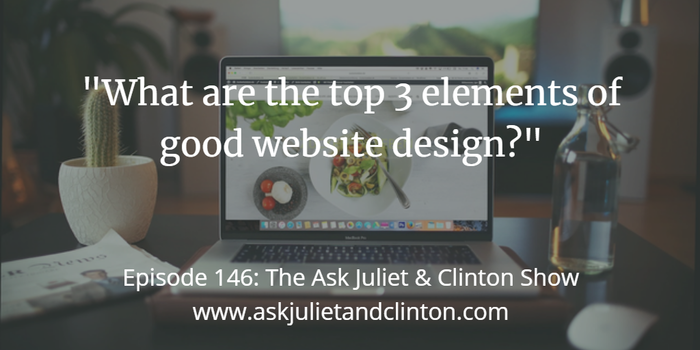 top elements of good web design
