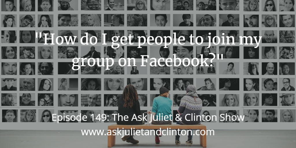 getting people join your FB group